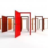 Small Open doors