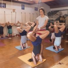 Cris teaches Urdhva Padmasana